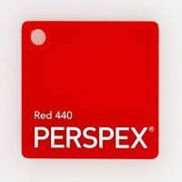 Red-440-Perspex