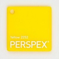 Yellow-2252-Perspex